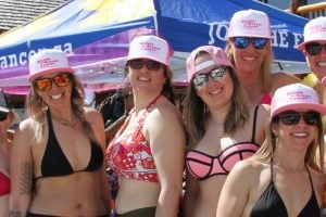 Bikinis for Breast Cancer at Lake Louise Ski Resort