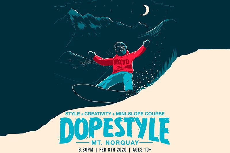 UNLTD Dopestyle Park Event at Mt. Norquay