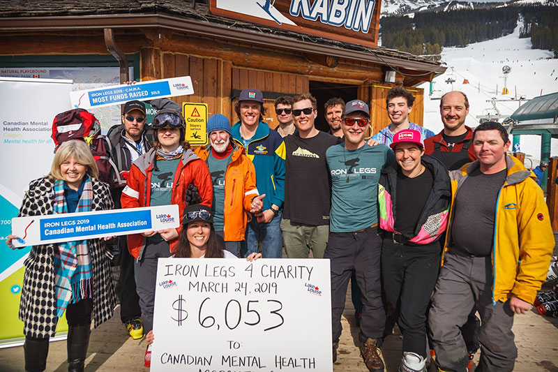 Iron Legs for Charity at Lake Louise Ski Resort