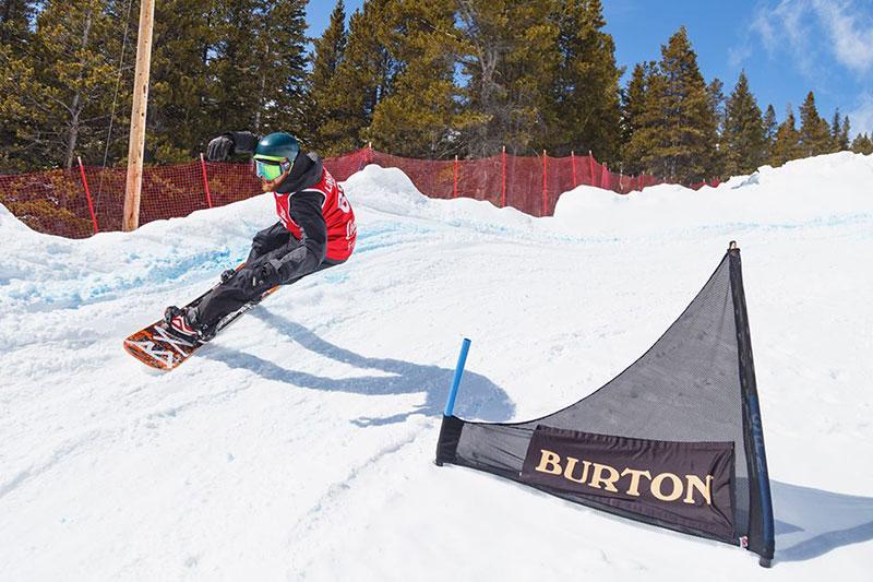 The Gully Banked Slalom at Lake Louise Ski Resort