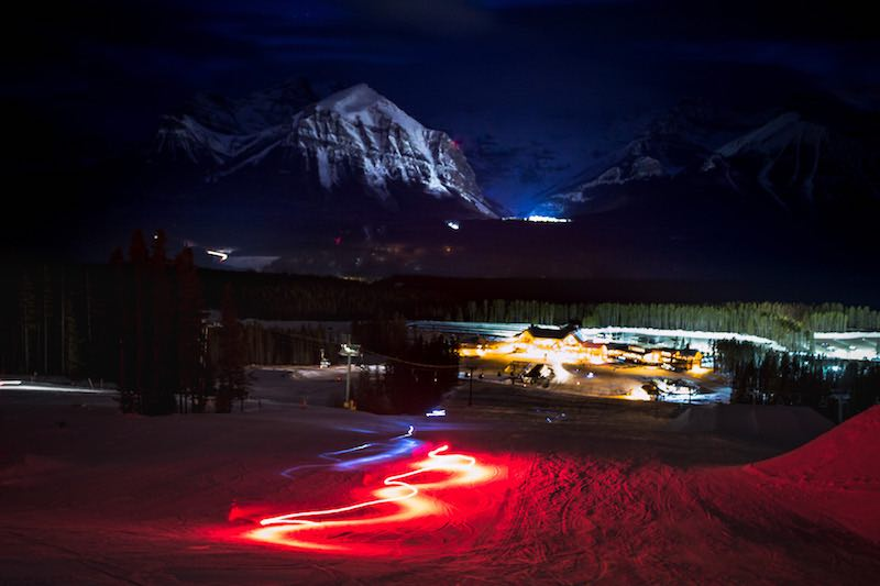 Lake Louise Torchlight