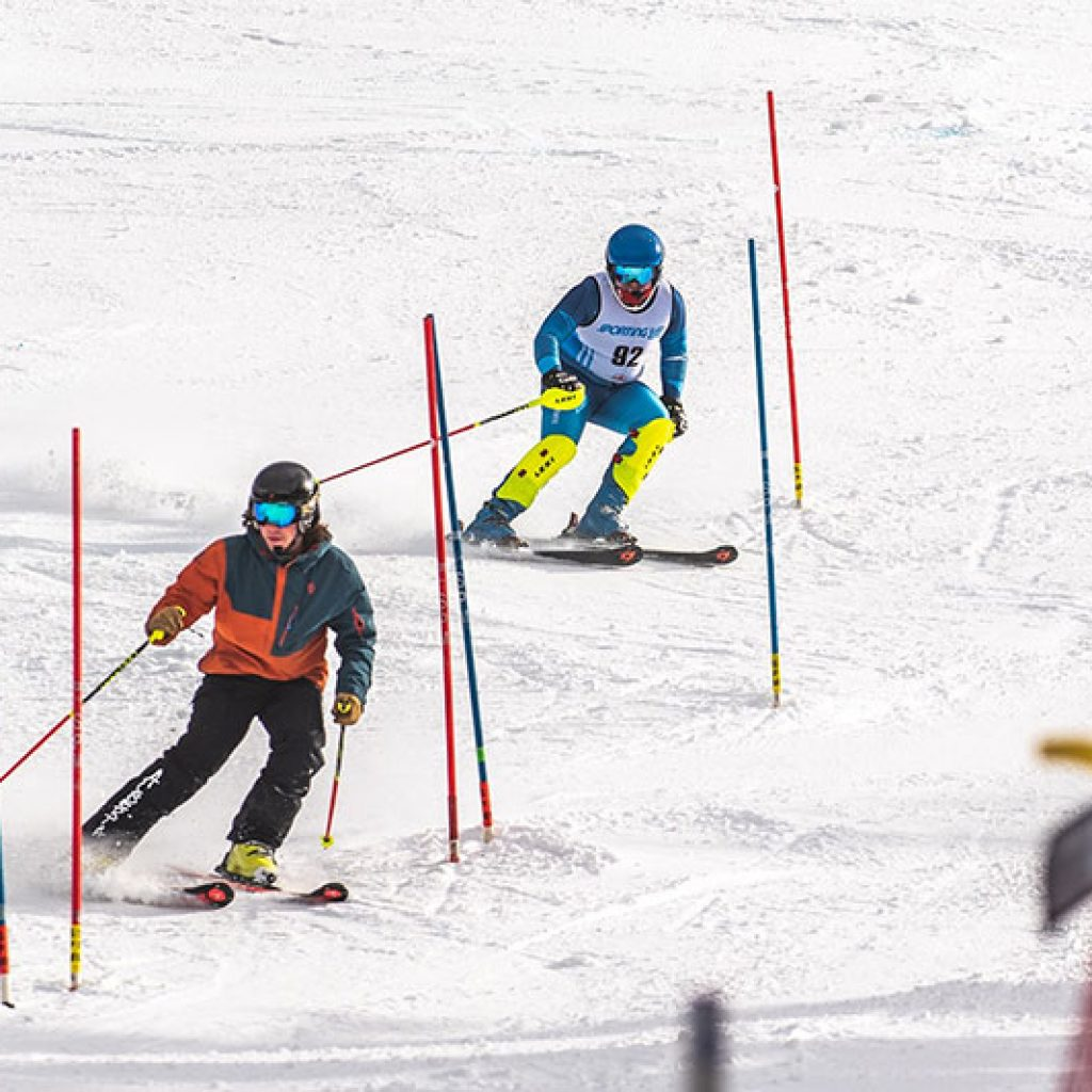 U16 Ski Race at Banff Sunshine