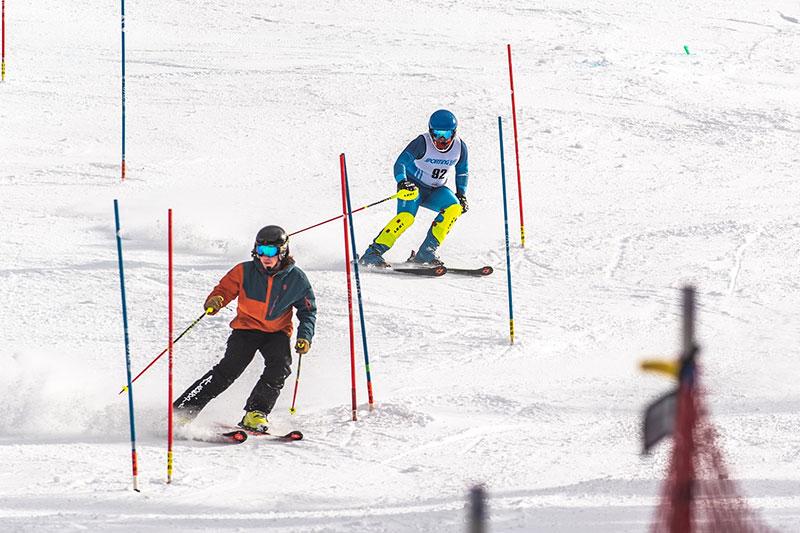 U16 Ski Race at Banff Sunshine