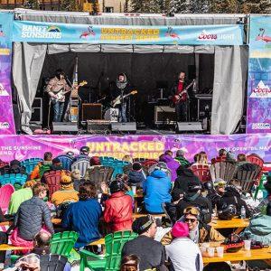 Untracked Concerts at Banff Sunshine