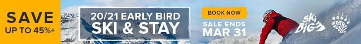 SkiBig3 Early Bird Ski & Stay Packages