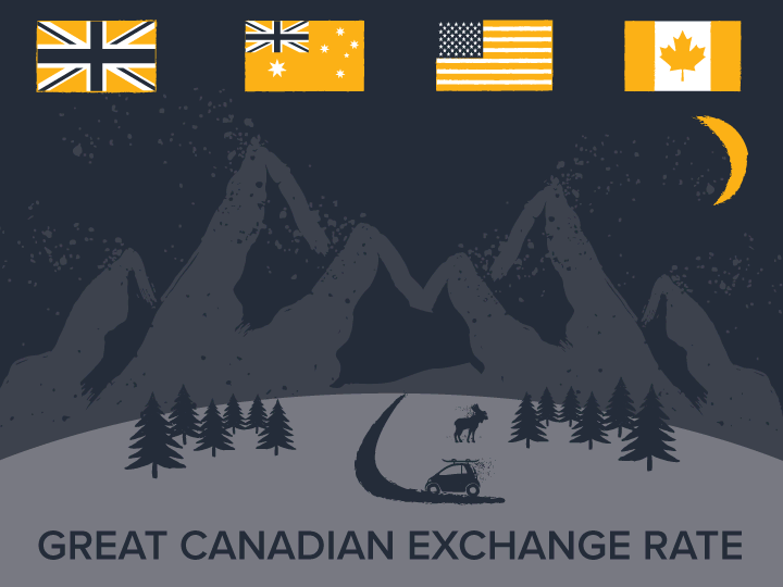 Great Canadian Exchange Rates