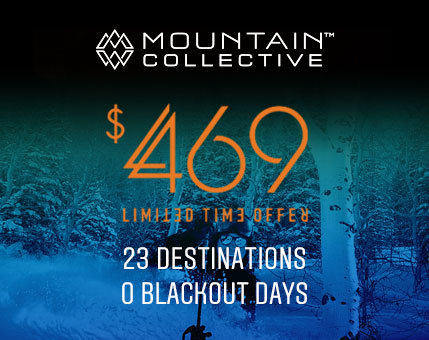 Mountain Collective Pass Promo