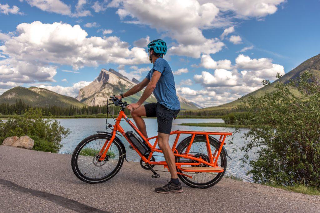 E-bike Adventure at Vermilion Lakes