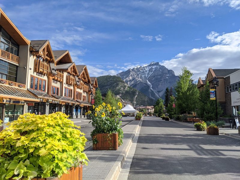 Banff Ave - Summer 2020