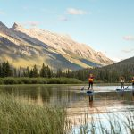 Epic Paddleboarding in Banff National Park
